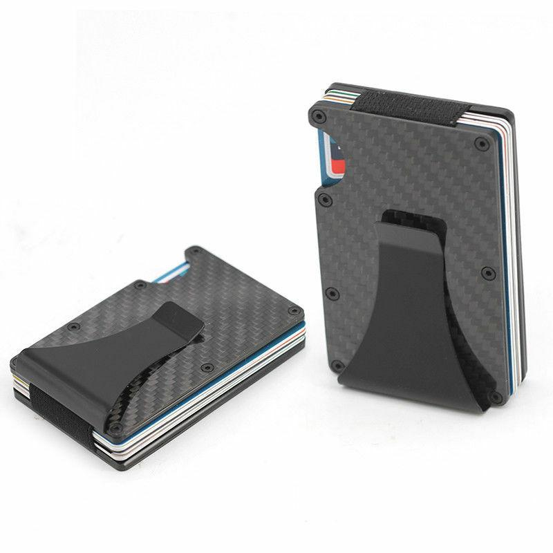 The Ridge Carbon Fiber Money Front Pocket RFID USA