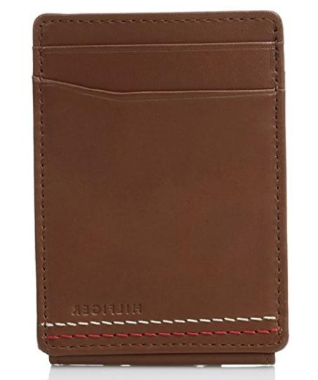 Tommy Hilfiger Men's Front Pocket Wallet with Wide Magnetic