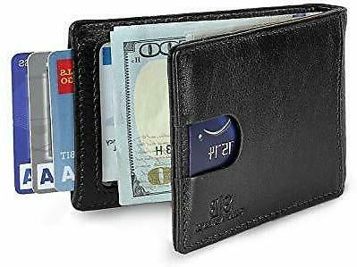 travel wallet for men with money clip