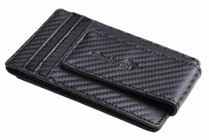 Travelambo Clip Pocket Wallet Slim Wallet