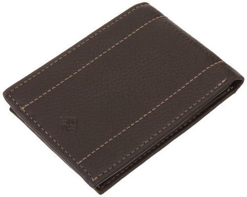 traveler wallet brown