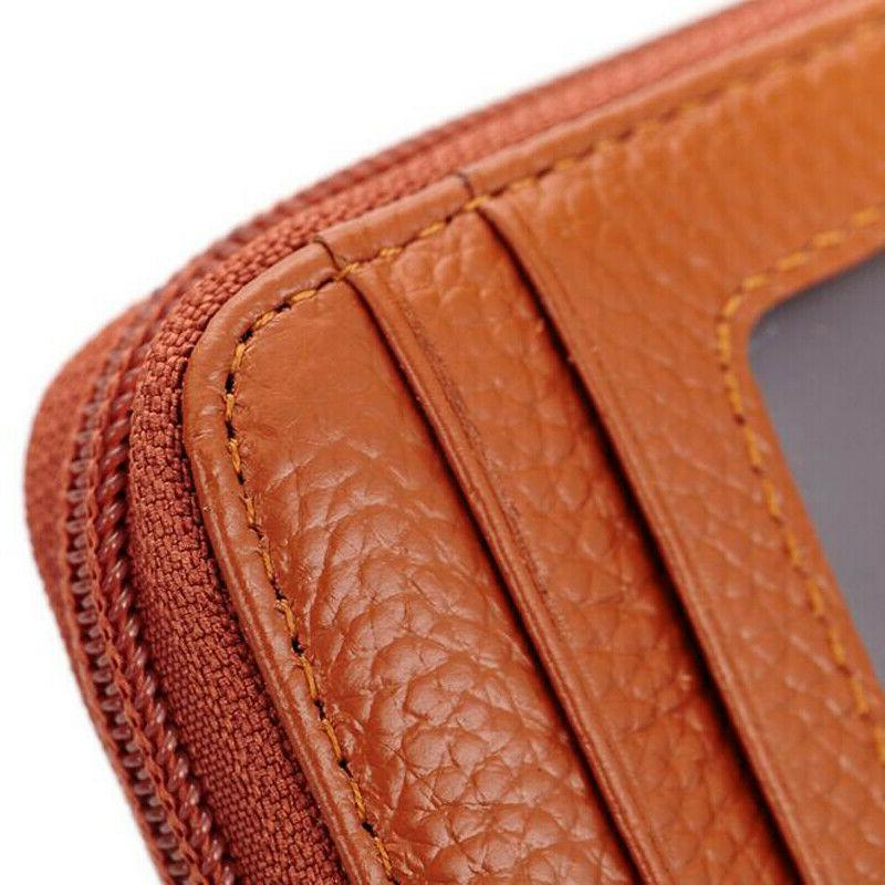 Unisex Wallet Leather Credit