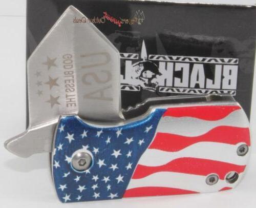 United Flag Spring Clip/Boot/Pocket