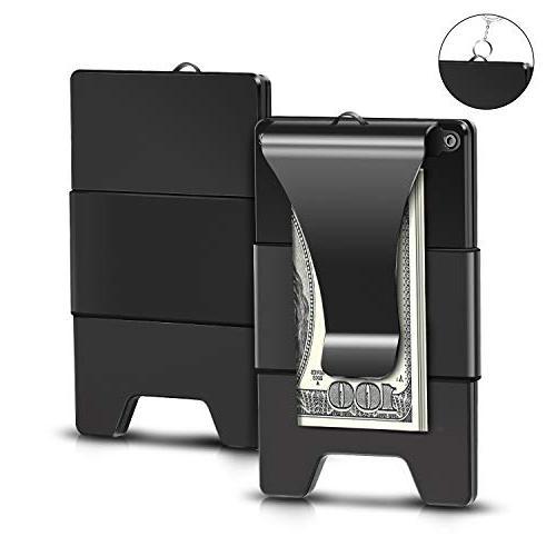 upgrade version minimalist aluminum wallet slim wallet