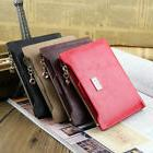 US Women's Wallet Bifold Leather RFID Blocking Slim Wallets
