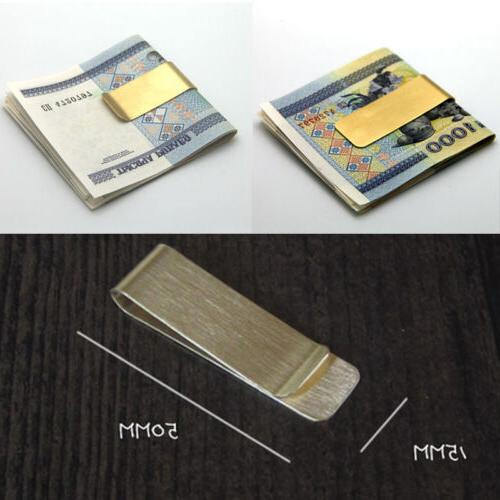 utility metal money clip 2 color man