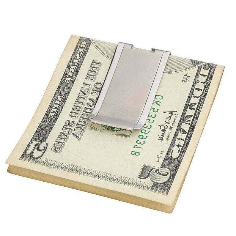 Very Sterling Silver Lightweight Money Clip