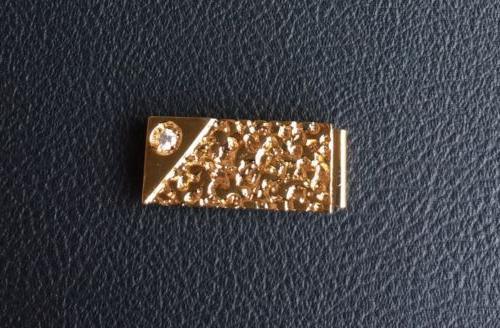 vintage old stock new gold nugget money