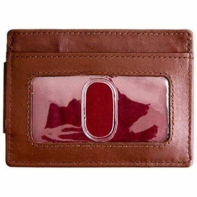 VIOSI Money Leather Front Pocket Holder