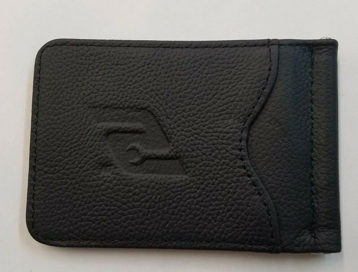 wallet mens genuine leather bi fold slim