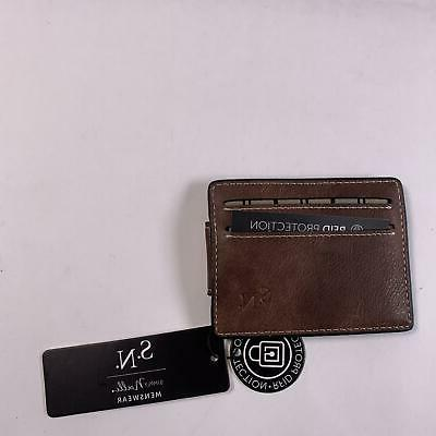wallet rfid blocking bifold slim