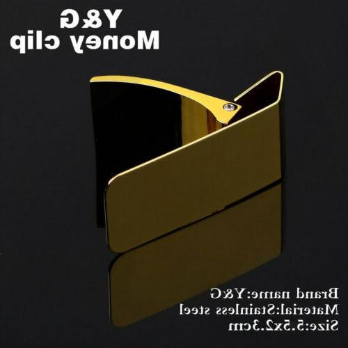 Y&G MC1021 Steel Money Clip Gift
