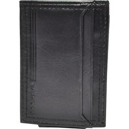 Dockers Leather Magnetic Front Pocket Wallet 2 Colors Men's