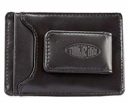 leather magnetic money clip slim