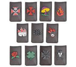 XUPER Leather Money Clip with Multiple design unique color m