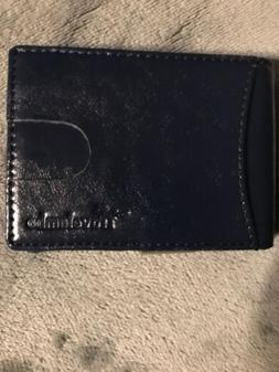 Travelambo Leather Slim Mens Wallet With Money Clip and Card