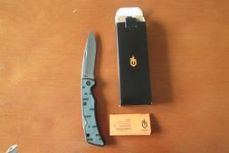 GERBER LOCKBACK FOLDING POCKET KNIFE - RAZOR SHARP BLADE - M