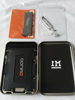 Dango M1 TITANIUM Maverick Tactical Wallet Bifold & Money Cl