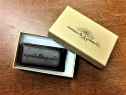 "Tommy Bahama Magnetic Leather Money Clip 3"" NEW IN BOX"