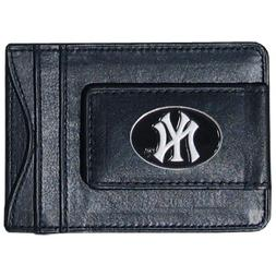 Major League Baseball New York Yankees Money Clip Card Holde