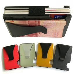 Male Purses Card Case Wallet <font><b>Metal</b></font> Case
