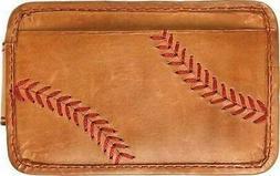 Rawlings Men's Baseball Stitch Money Clip Tan Size OSFA MW49