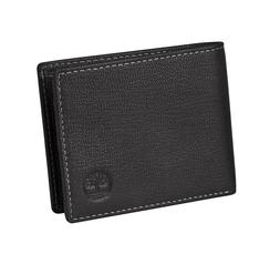 Timberland Men's Blix Slimfold Wallet, Black, One Size
