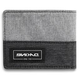 Dakine Men's Payback Tri-fold Wallet Greyscale Gray