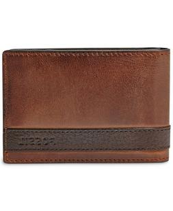 Fossil Men's Quinn Money Clip Bifold Wallet