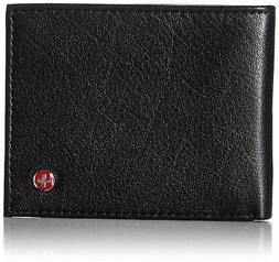 Alpine Swiss Men's RFID Blocking Leather Wallet Slim Outer C