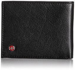 Alpine Swiss Men's RFID Blocking Leather Wallet Slim Outer C