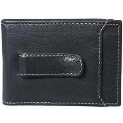 Timberland Mens Flip Money Clip Leather Bifold ID Card Case