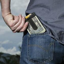 Timberland Mens Flip Money Clip Leather Bifold Pocket Wallet
