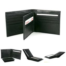 Alpine Swiss Mens Leather Flipout ID Wallet Bifold Trifold H