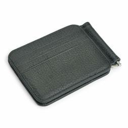 Caillu Mini Leather Id Money Clip,Purse Card,Designer Bifold