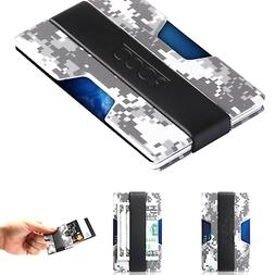 Travelambo Magnetic Money Clip Front Pocket Wallet Slim Mini