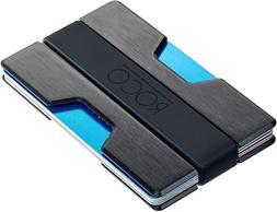 MINIMALIST Aluminum Slim Wallet RFID BLOCKING Money Clip - N