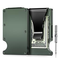 Minimalist Carbon Fibre Slim Wallet, Slim Wallet & RFID Bloc