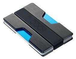 ROCO Minimalist Slim Wallet for Men Aluminum RFID Block Cool