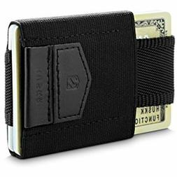 HUSKK Minimalist Slim Wallet - 10 Card Holders - Cash, Coins