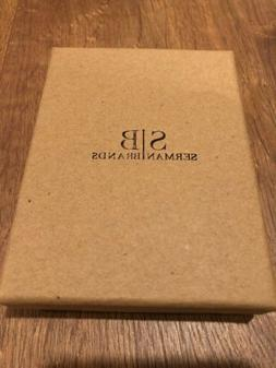 Minimalist, Travel Wallet, Bi-fold with Money Clip, Serman B