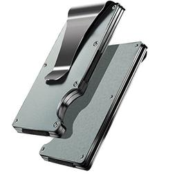 minimalist wallet ridge money clip