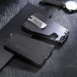 Minimalist Wallet - Slim Credit Card Holder Money Clip Walle