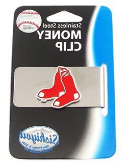 MLB Boston Red Sox Steel Money Clip