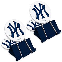 MLB New York Yankees MyFanClip Multi Purpose Clips