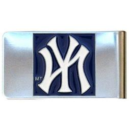 MLB New York Yankees Steel Money Clip
