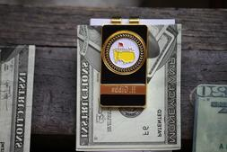 The Masters Money Clip Black & Gold - Beautiful Combination