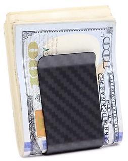 MONEY CLIP CARBON FIBER MINIMALIST WALLET CREDIT CARD BUSINE
