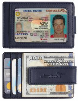 Travelambo Money Clip Front Pocket Wallet Slim Minimalist Ty