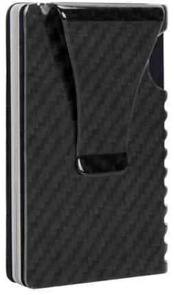 MONEY CLIP Slim Wallet-EGRD Carbon Fiber Front Pocket Minima